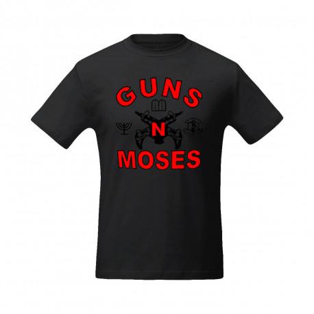 """Футболка """"GUNS N MOSES"""""""