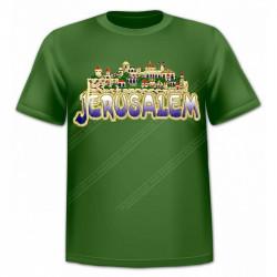 "Футболка ""Jerusalem"" Панорама Старого Города"