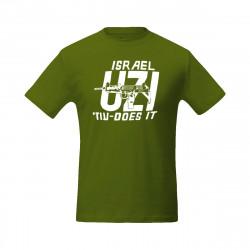"""Футболка из Израиля """"UZI"""""""