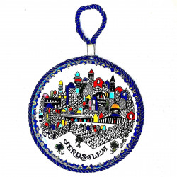 Декоративная тарелка Иерусалим Ø 15 см.