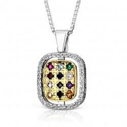 Медальон Каббалы «12 камней Ветхого завета»