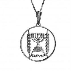 Амулет на Богатство Израильская Монета 1 Лира 1963г.