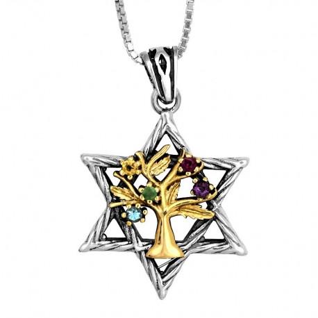 Звезда Давида с Древом Жизни