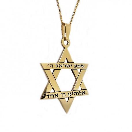 Звезда Давида золото