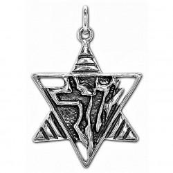 Звезда Давида (Маген Давид) серебро 925 пр.