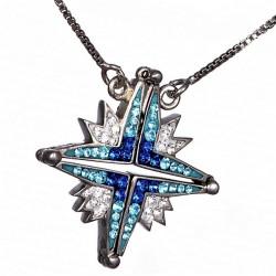 Вифлеемская звезда кулон раскладной