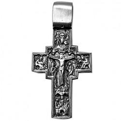 Нательный крестик освященный в Иерусалиме (серебро 925)