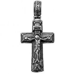 Нательный Мужской Серебряный Крест из Иерусалима