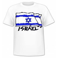 Футболка с флагом Израиля