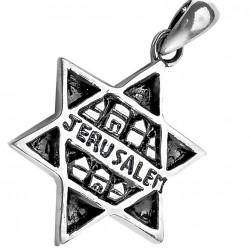 Подвеска Звезда Давида из Серебра