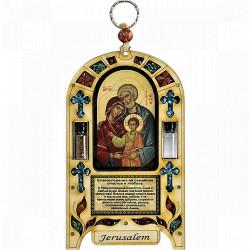 Икона Святое Семейство с благословеним на семейное счастье и благополучие