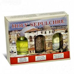Набор паломника из Иерусалима (вода,земля,масло)