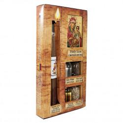 набор паломника с освященными свечами