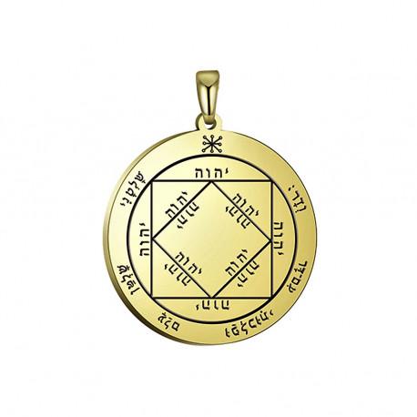 Печать Соломона из золота Победитель
