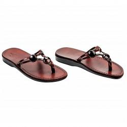Шлепанцы - сандалии из натуральной кожи