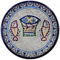 Декоративная тарелка Шалом