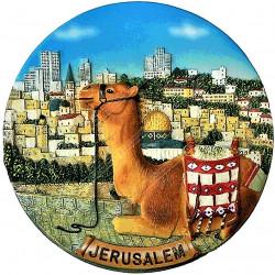 керамическая тарелка Иерусалим