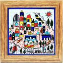 "Панно Керамика ""Иерусалим"" Ручная Работа"