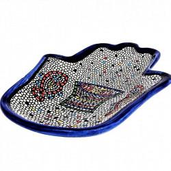 "Хамса блюдце из керамики ""Табха"""