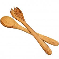 Набор Лопаток для Кухни из Оливкового Дерева