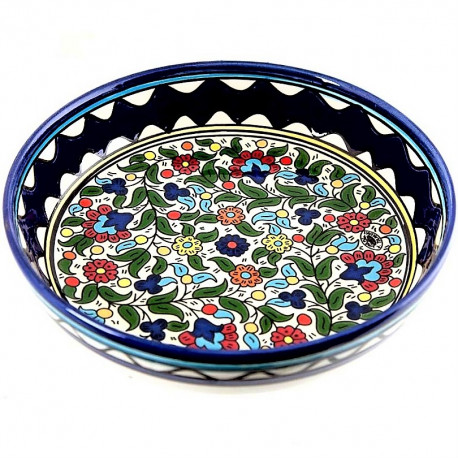 салатник керамический ручно работы