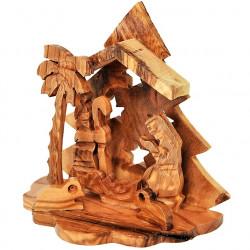 Рождественский Вертеп из Оливкового Дерева