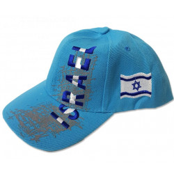 """Бейсболка с Флагом """"ISRAEL"""" (выбор цвета)"""