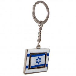 брелок с флагом Израиля