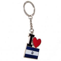 """Брелок """"Я Люблю Израиль"""""""