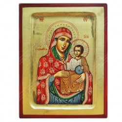 Икона Иерусалимская Божья Матерь. Освящена