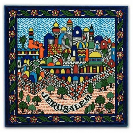Настенное пано Иерусалим