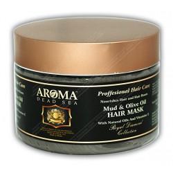 Грязевая маска для волос с оливковым маслом и витамином Е