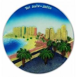 Тарелка Тель Авив 3D