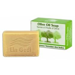 Мыло из оливкового масла и лемонграсса 100gr