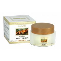 Ночной питательный крем для лица на основе масла облепихи