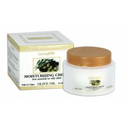 Дневной крем на основе оливкового масла для нормальной и жирной кожи
