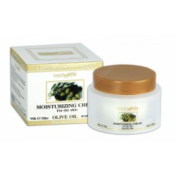 Увлажняющий дневной крем на основе оливкового масла для сухой кожи