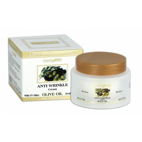 Крем от морщин на основе оливкового масла