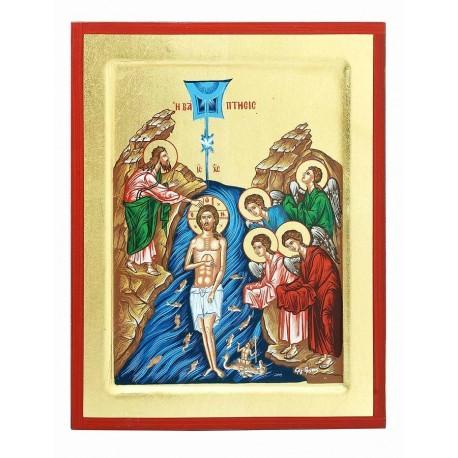 Икона Крещение Господа