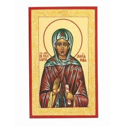 Икона Мария Лактионова. Преподобномученица.