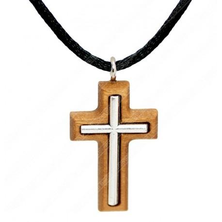 Католический нательный крестик купить