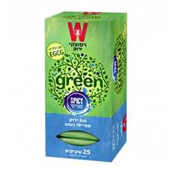 Пряный зеленый чай с мятой