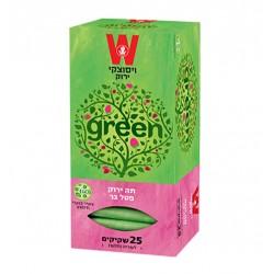 Зеленый чай с дикой малиной