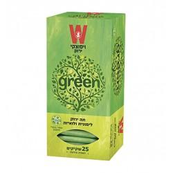 Зеленый чай с лимонной травой и вербеной