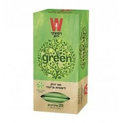 Зеленый чай с лимонной травой и имбирем