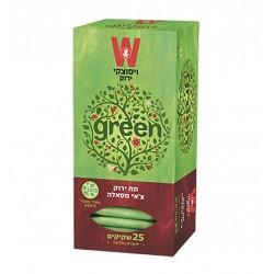 """Зеленый чай """"Wissotzky"""" Масала (со специями) 25 пакетиков"""