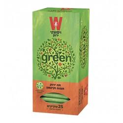 Зеленый чай со вкусом яблока и корицы