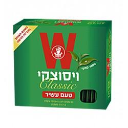 """Чай """"Wissotzky""""классический с мятой 50 пакетиков"""