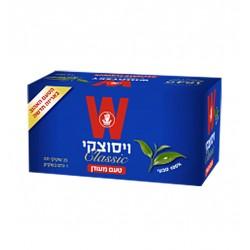 """Черный чай """"Wissotzky"""" Классический 25 пакетиков"""