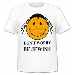 Футболка Don't Worry, Be Jewish
